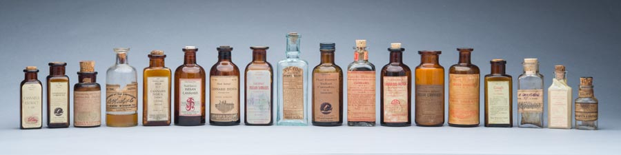 panoramic bottle assortment 10 x 40 image in a 16 x 46 maple finish